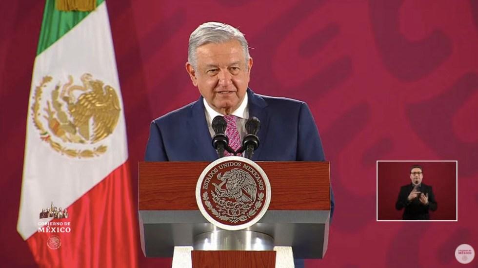 AMLO no opinará sobre elecciones en EE.UU. hasta que exista un ganador; celebra que peso no se depreciara - Andrés Manuel López Obrador. Captura de pantalla