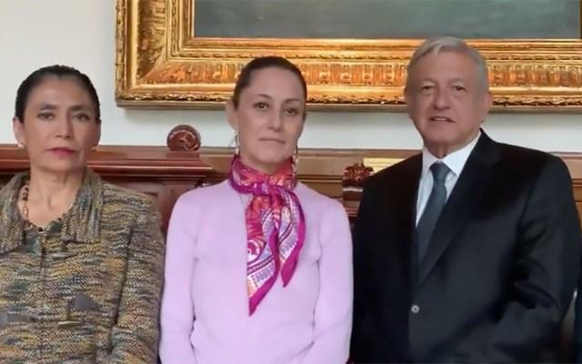 #Video López Obrador y Sheinbaum terminan proyecto de Universidad de la Salud - AMLO presenta Universidad de la Salud. Captura de pantalla