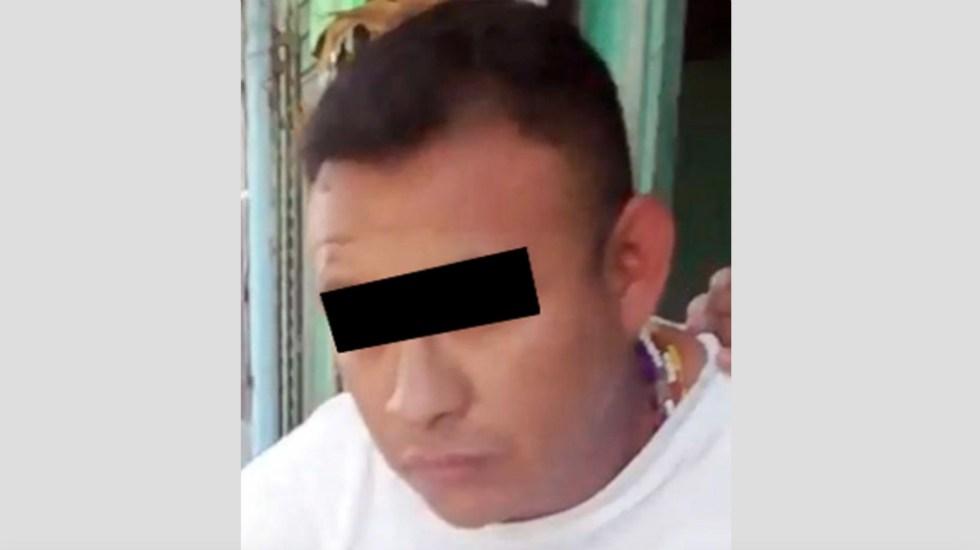 Capturan a sujeto por más de 27 robos a tiendas - Foto de SS Edomex