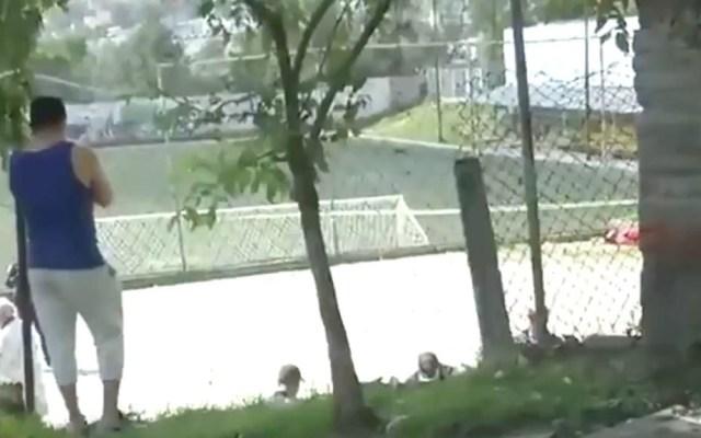 Asesinan a balazos a hombre en deportivo de la Magdalena Contreras - Asesinato deportivo Magdalena Contreras Ciudad de México