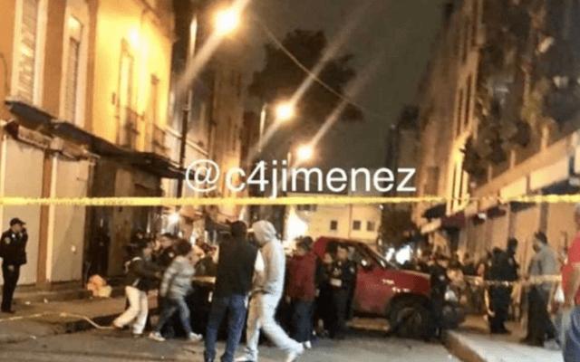 Asesinan a líder de comerciantes ambulantes en el Centro Histórico - Foto de Carlos Jiménez