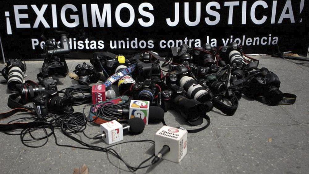 Es 2020 el año con el mayor número de homicidios contra periodistas en una década: Segob - Aumenta 18 por ciento los asesinatos contra periodistas: UNESCO