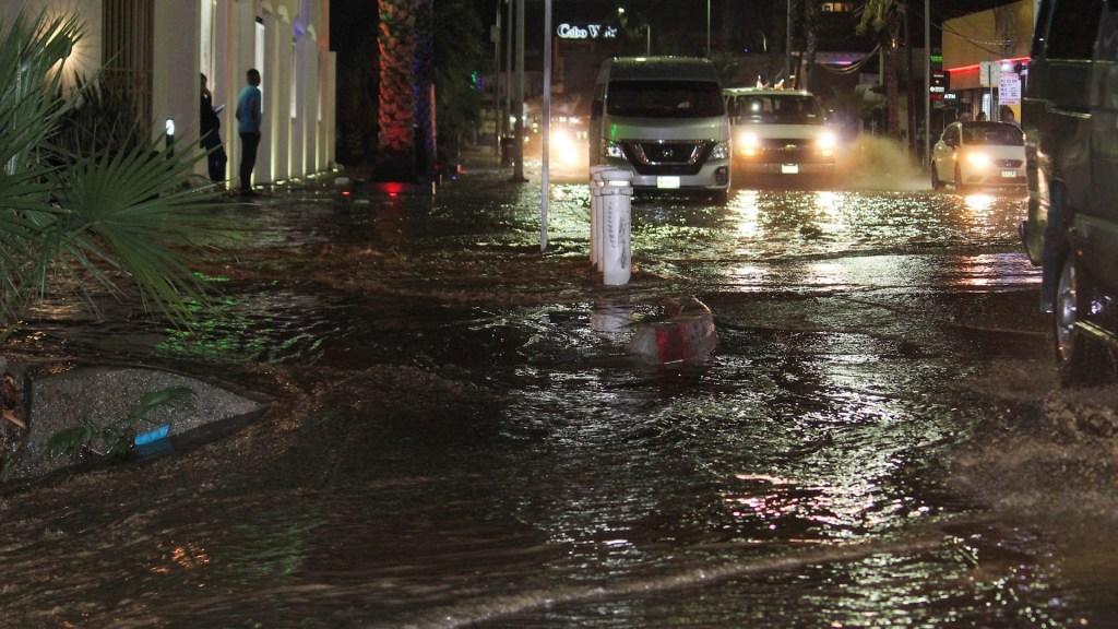 Baja California Sur solicita Declaratoria de Emergencia para dos municipios - Baja California Sur lluvias inundaciones