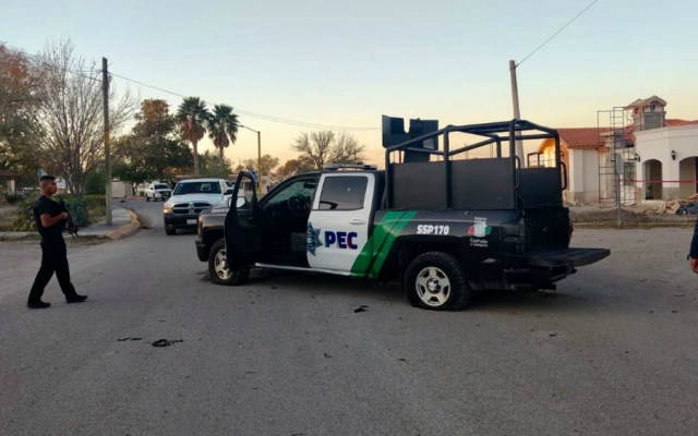 Ya son 14 muertos tras enfrentamientos en Villa Unión, Coahuila - Foto de EFE