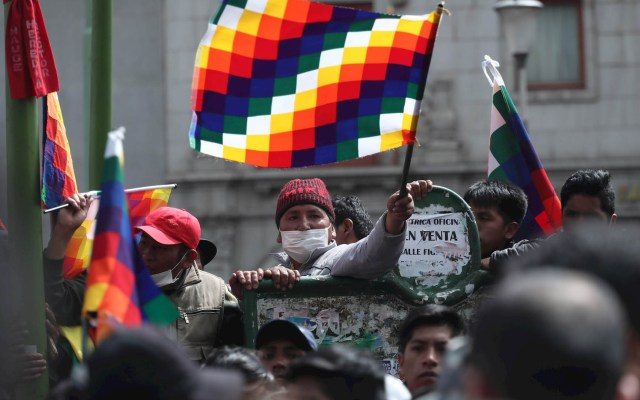 Detienen a jefa de Brigada Médica de Cuba en Bolivia - Bolivia protestas manifestaciones disturbios