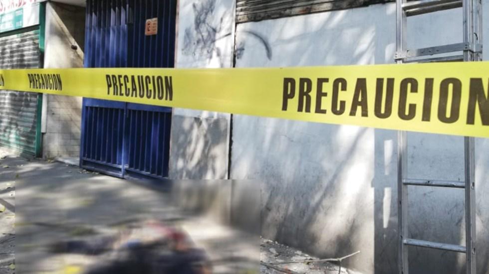 Muere hombre al caer desde azotea en Miguel Hidalgo - Foto de @GaboOrtega73