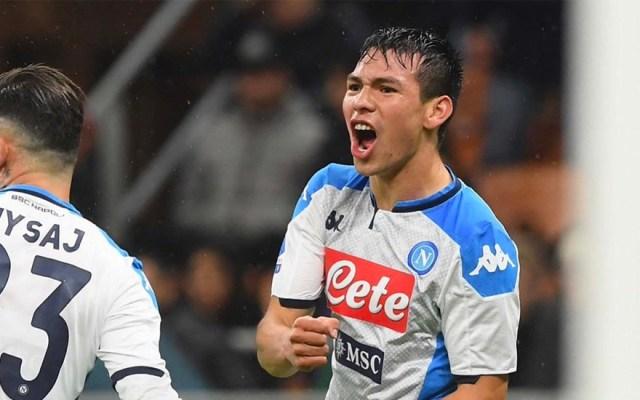 Al Napoli no le basta un gol del 'Chucky' Lozano y apenas empata con el Milan - napoli