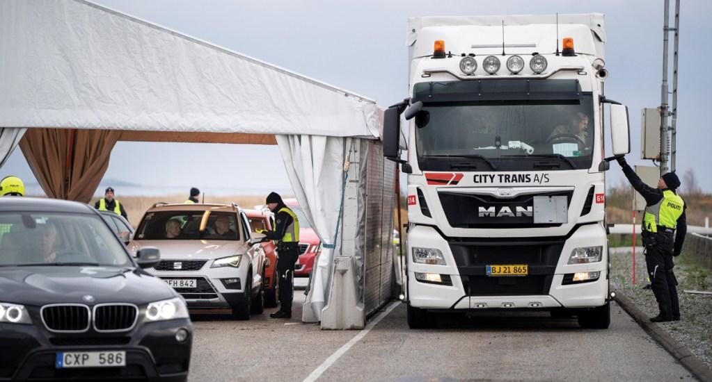 Dinamarca impone control migratorio en frontera con Suecia - Foto de EFE