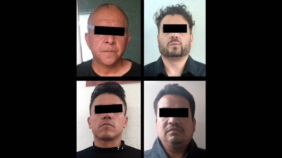 Detienen a banda de presuntos asaltantes en Chalco - Detenidos asaltantes Chalco Estado de México