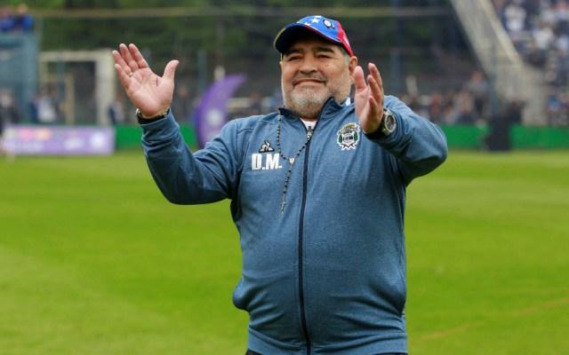 Diego Armando Maradona, el mejor jugador de futbol del mundo - Foto de EFE
