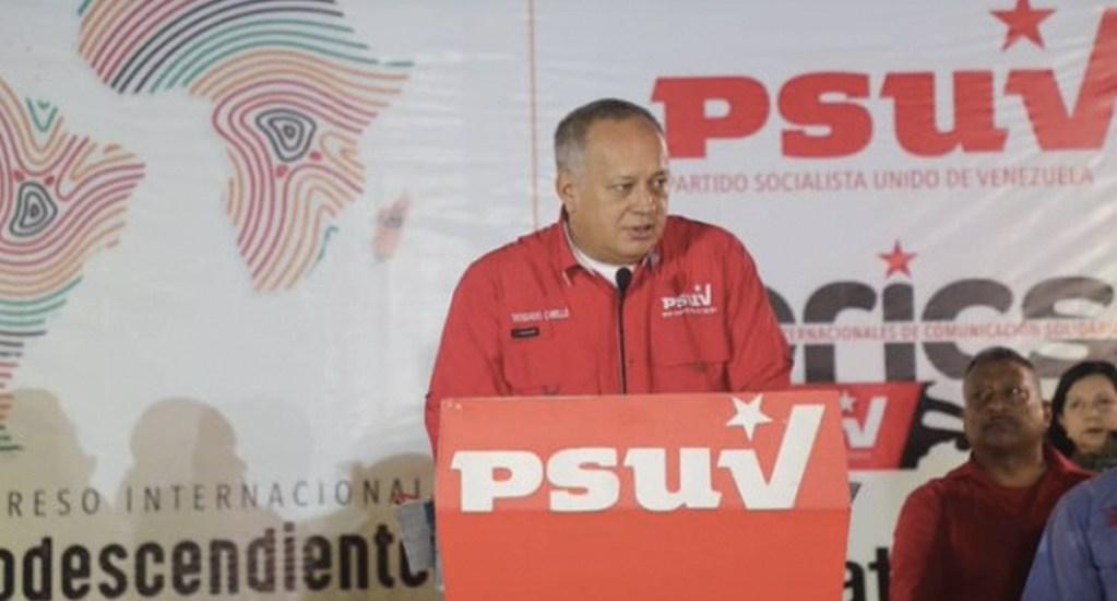"""Ojalá pudiera venir a Venezuela"": Diosdado Cabello sobre asilo de Evo Morales - Foto de PSUV"