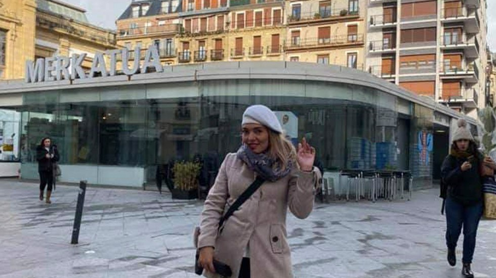 Localizan a la mexicana Edith Raya desaparecida en Francia - Edith Raya Cedillo. Foto de Facebook