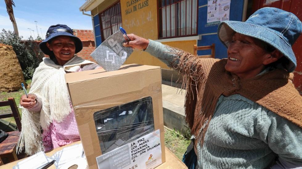 EE.UU. envía técnicos a Bolivia para evaluar apoyo en próximos comicios - Elecciones Bolivia elección