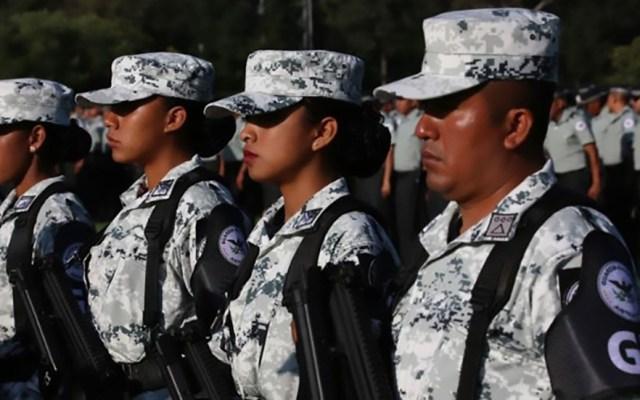 Llegan a Baja California 200 elementos de la Guardia Nacional - Elementos de la Guardia Nacional. Foto de Gobierno de México
