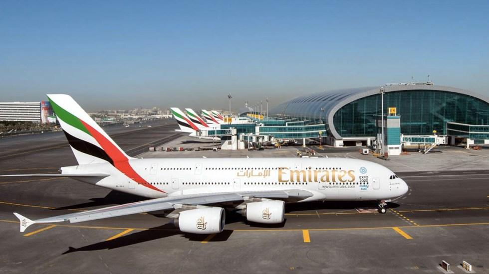 Emirates obtiene permiso para operar vuelos en México - Emirates aerolínea línea aérea avión