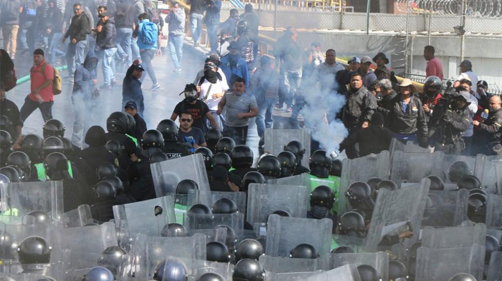 Policías federales roban equipo de la SSC durante enfrentamiento - enfrentamiento policias federales y ssc