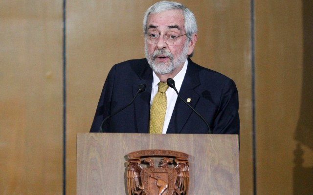 Reeligen a Enrique Graue como rector de la UNAM para el período 2019-2023 - Foto de Notimex-Gustavo Durán.