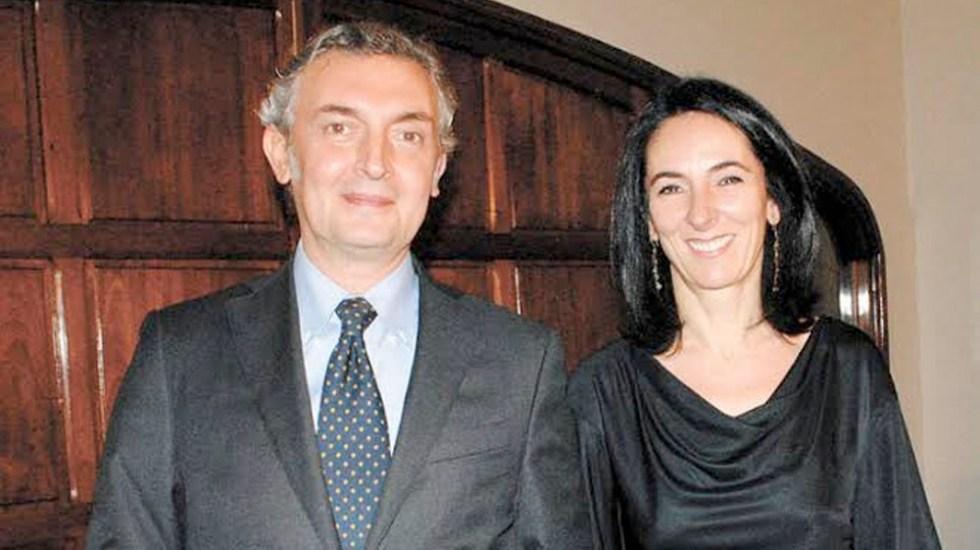 Roban iPhone a esposa del embajador de Italia en México - esposa embajador Italia México