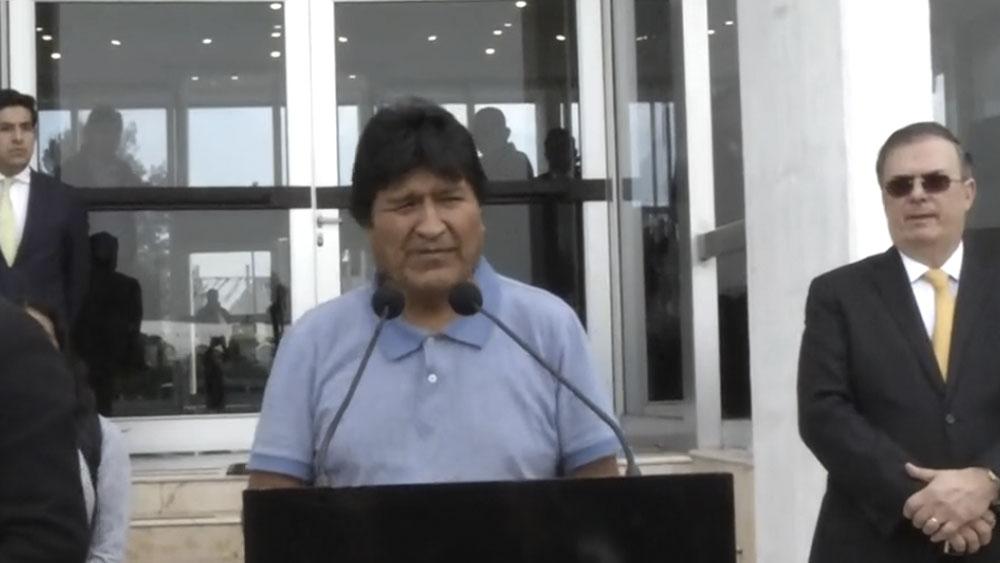 Evo Morales AICM