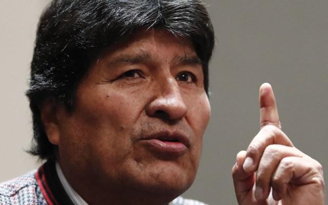 Evo Morales no viola Tratado sobre asilo, asegura Sánchez Cordero - Foto de EFE