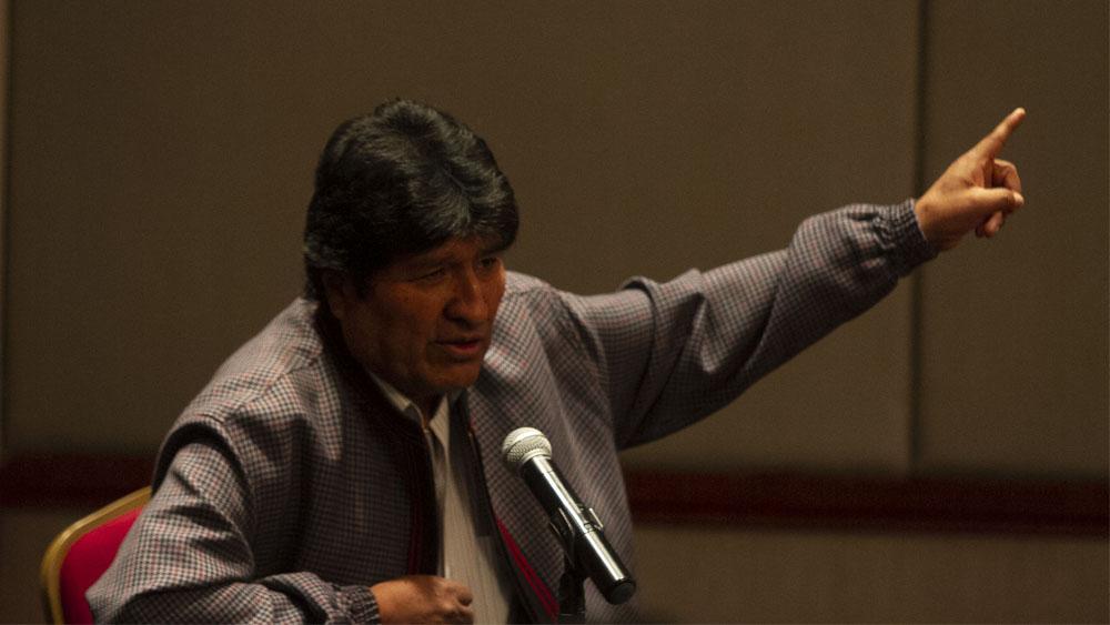 """Evo Morales acusa al gobierno interino de Bolivia de """"montaje"""" en su contra - Evo Morales"""