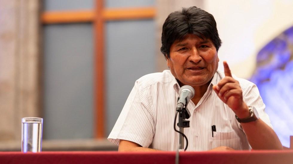 Desde Cuba, Evo Morales promete su retorno a Bolivia - Evo Morales en la Ciudad de México. Foto de Notimex