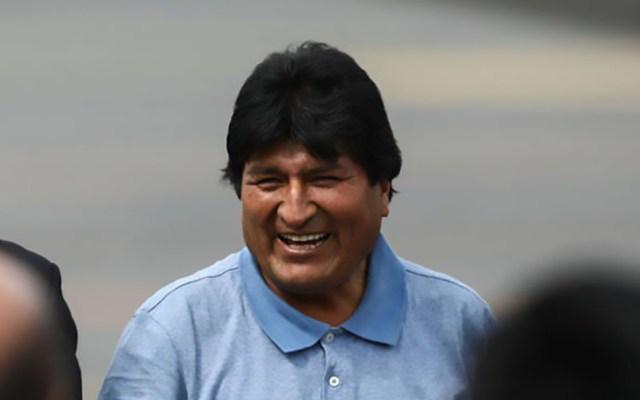 Golpe de Estado o atentados no cambiarán mi ideología, sentencia Evo Morales - Evo Morales a su llegada a México. Foto de @evoespueblo