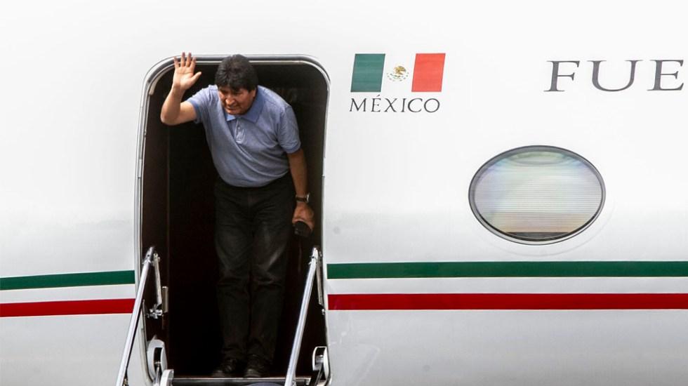 Sedena reserva por cinco años datos del vuelo que trajo a Evo Morales - evo morales aicm