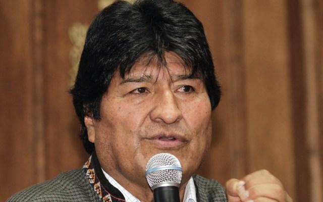 Evo Morales revela que tiene una notificación azul de la Interpol - Evo Morales Ayma México conferencia de prensa