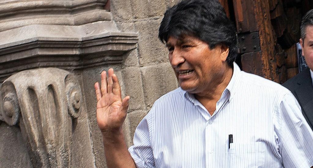 Esta es la Constancia Temporal de la CURP para extranjeros otorgada a Evo Morales - Evo Morales Ciudad de México
