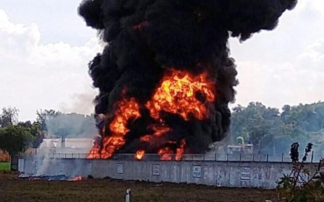 Incendio en toma clandestina de Tetepango, Hidalgo - Incendio en toma clandestina de Tetepango, Hidalgo