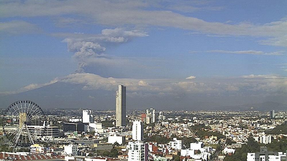 Explosión del Popocatépetl deja columna de ceniza de dos kilómetros - explosión Popocatépetl