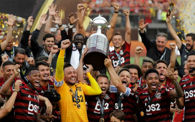 Con espectacular voltereta, Flamengo es campeón de la Copa Libertadores - Foto de EFE
