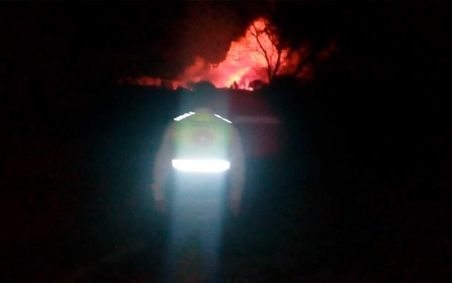 Fuga de gas LP en ducto de Pemex deja un herido en Tlaxcala - Fuga de gas LP en ducto de Pemex deja un herido en Tlaxcala