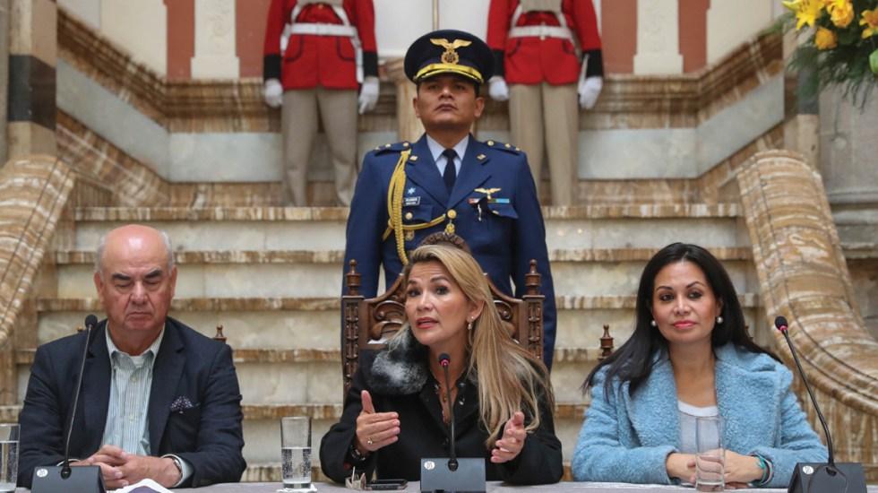 Gobierno interino de Bolivia rompe relaciones con Venezuela - Foto de EFE