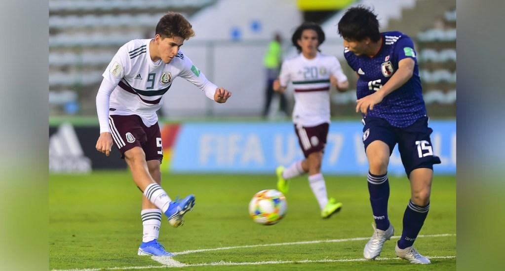 Eligen gol de Santiago Muñoz como el mejor de la Copa Mundial Sub-17 Brasil 2019 - Gol de Santiago Muñoz. Foto de Mexsport