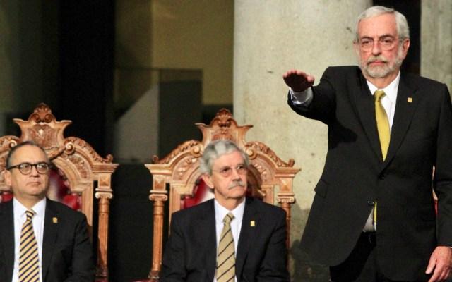 Protesta Enrique Graue como rector de la UNAM para el periodo 2019-2023 - Ceremonia de Toma de Protesta del Dr. Enrique Luis Graue Wiechers