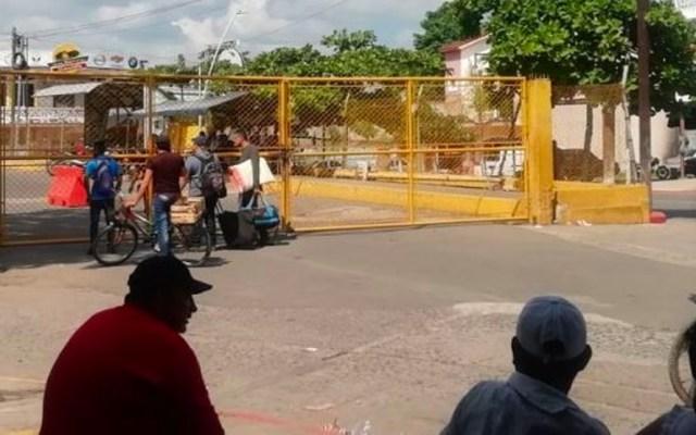 Guatemala cierra aduana en frontera con México por ataque de contrabandistas - Aduana de Guatemala atacada por contrabandistas