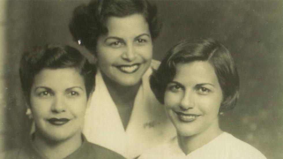 Hermanas Mirabal. Foto de Familia Mirabal