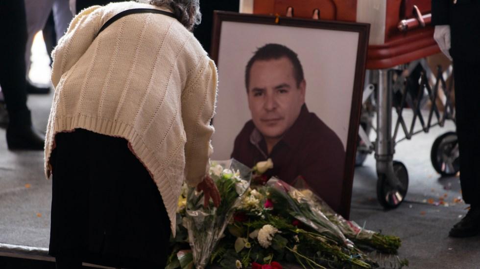 Dan cinco años de internamiento a homicida de alcalde de Valle de Chalco - En la foto, el funeral del alcalde Francisco Tenorio Contreras. Foto de Notimex-Gerardo Contreras.