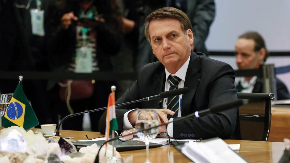 Deforestación es cultural y no acabará: Bolsonaro - Jair Bolsonaro
