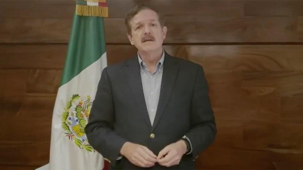 #Video Romero Hicks niega relación con red de bots contra López Obrador - JC Romero Hicks. Captura de pantalla