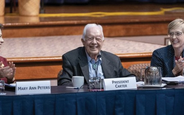 Jimmy Carter se recupera tras cirugía cerebral - Foto de The Carter Center