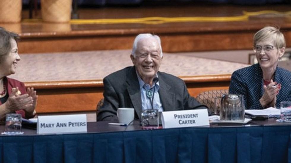 Jimmy Carter se recupera tras cirugía cerebral - Foto de The Carter Center