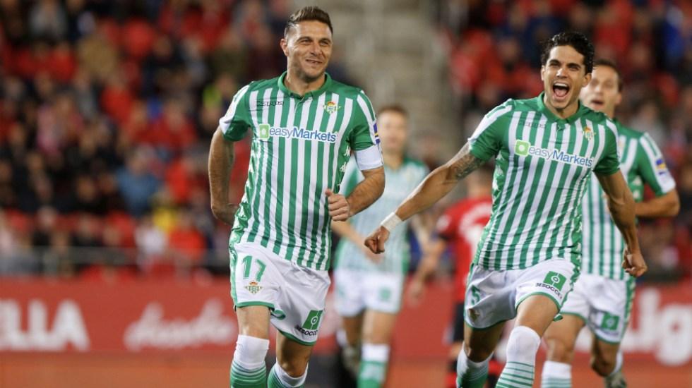 Con buena actuación de Guardado, Betis consiguió triunfo ante Mallorca - Foto de @RealBetis
