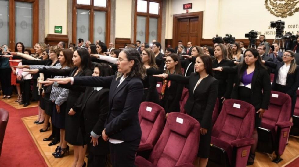 Toman protesta 25 nuevas juezas del Poder Judicial Federal - Foto de Consejo de la Judicatura Federal
