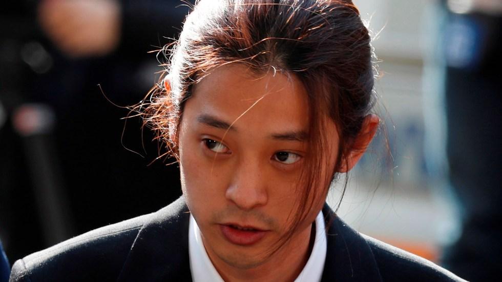 Sentencian a cantantes de K-Pop a 11 años de cárcel por violación - Jung Joon-young, sentenciado a 6 años de cárcel por violación en grupo y grabar y difundir videos sexuales de sus víctimas. Foto de EFE