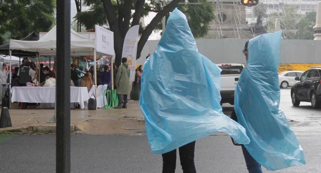 Prevén lluvias intensas para Coahuila, Nuevo León y Tamaulipas - Lluvia en la Ciudad de México