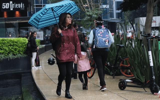 Lluvia moderada en cuatro alcaldías - Foto de Notimex