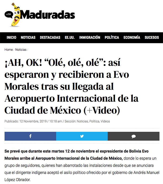Captura de pantalla / Maduradas